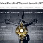 Strony internetowe dla zakonów i zgromadzeń