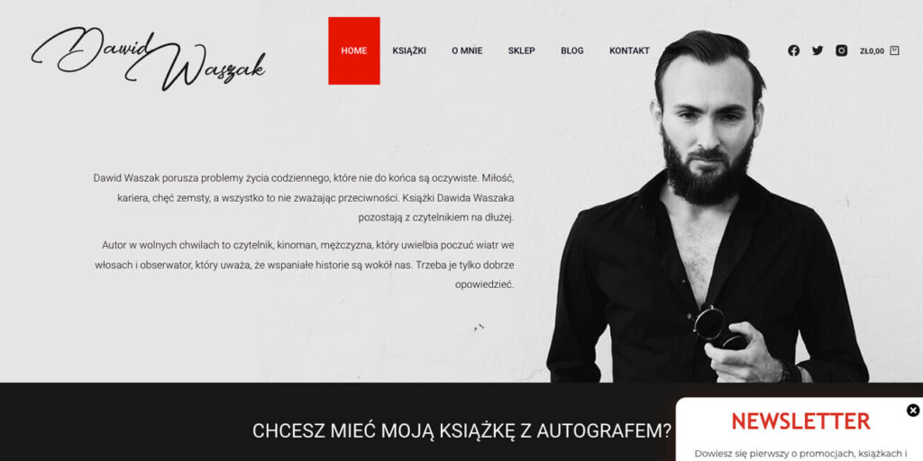 dawid-waszak-strona-internetowa-wordpress